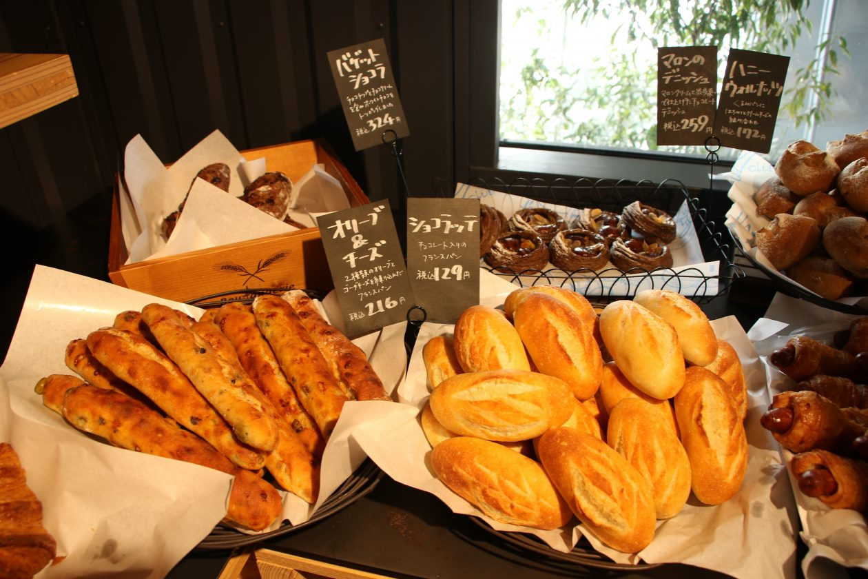 ラコリーナ近江八幡ジュブリルタンのパン