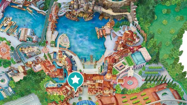 ディズニーシー地図