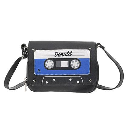 ショルダーバッグ ドナルド カセットテープ