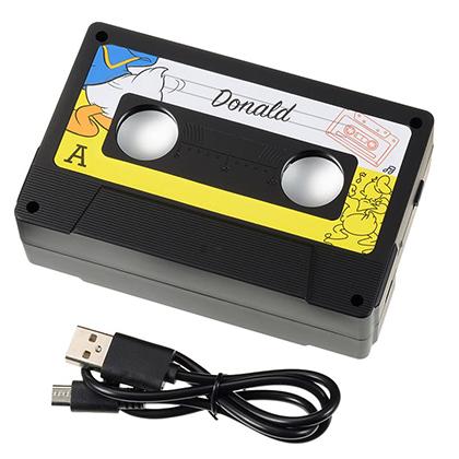 モバイルスピーカー ドナルド カセットテープ