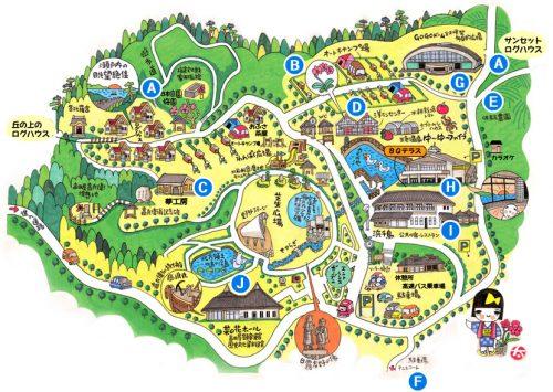 ウェルネスパーク五色地図